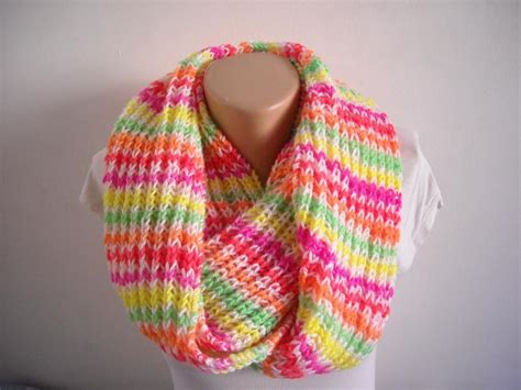 easy scarves to knit easy knit infinity scarf elagant snood by aytulgift craftsy