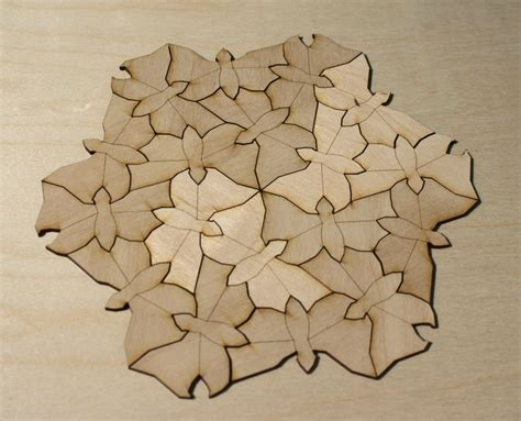 how to make a tessellation with an index card image detail for tessellation escher picture