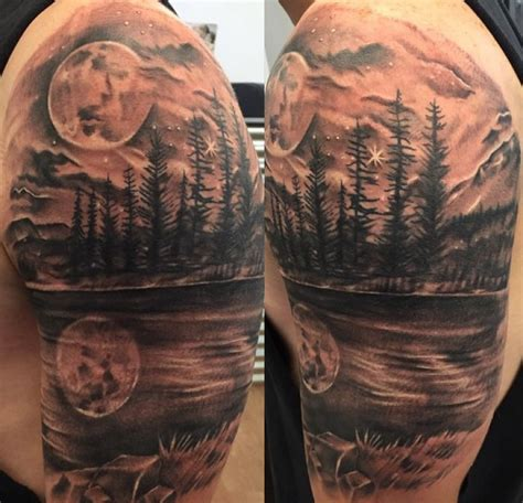 32 stunning scenic tattoo designs
