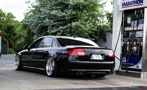 Audi A8 D3 by Stanced Audi A8 D3 2010 Rear