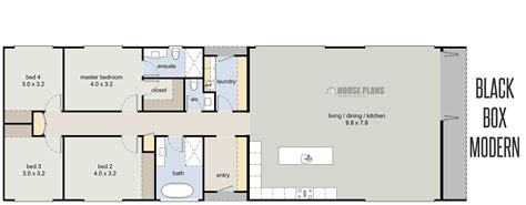 rectangular house plans modern n rectangle house plans modest rectangular floor