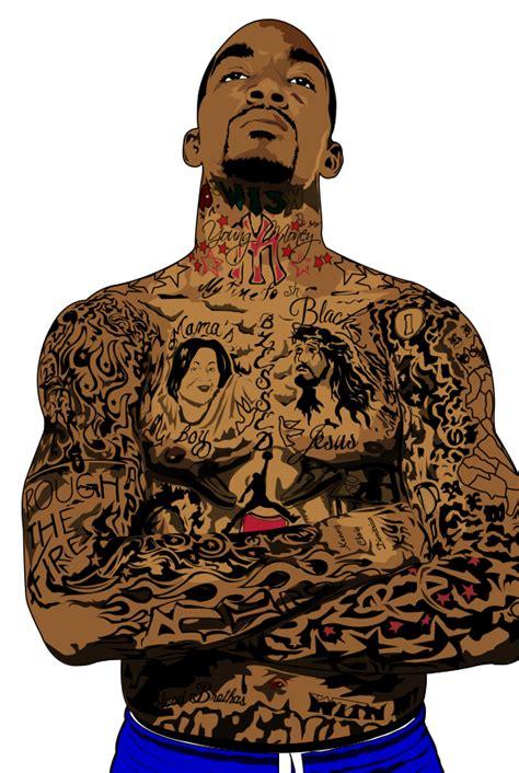 jr smith tattoos by fallouthero on deviantart