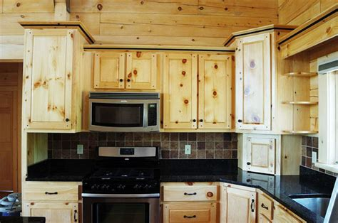 pine cabinets kitchen crafted solid pine kitchen cabinets mitrick