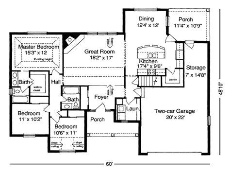 2 bedroom ranch house plans 2 bedroom ranch house plans bedroom at real estate