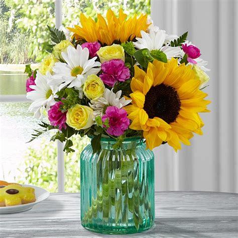 better homes and gardens flowers ftd sunlit bouquet by better homes and gardens at