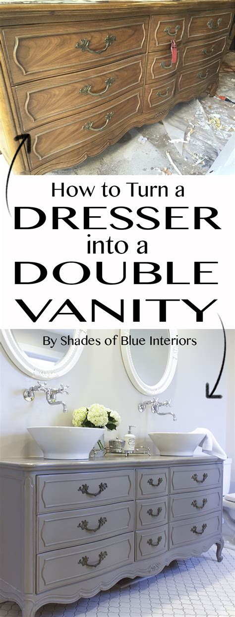 how to turn a dresser into a bathroom vanity stunning bathroom tour dresser into vanity