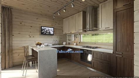 walnut cabinets kitchen modern cutting edge room design ideas