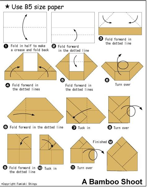 easy origami with rectangular paper http en origami club rectangular bambooshoot