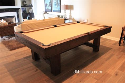 rustic pool tables rustic style pool table dk billiards service orange