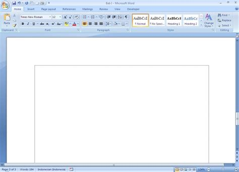 on microsoft word microsoft office word 2007 just for