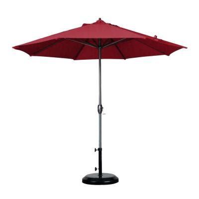 home depot patio umbrellas california umbrella 9 ft aluminum auto tilt patio