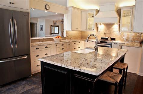 Easy Backsplash Kitchen white galaxy granite for stylish and affordable kitchen