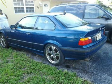 1998 Bmw 323is by Buy Used 1998 Bmw 323is Base Coupe 2 Door 2 8l In Pompano