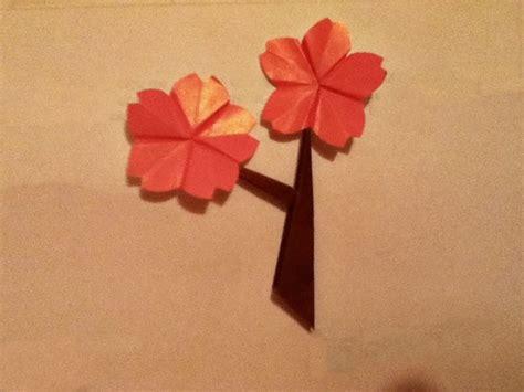 flor origami flor de cerezo origami by libraryfairy on deviantart