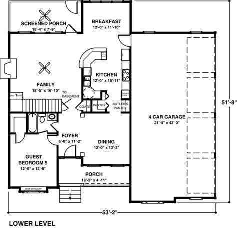 Multi Family Home Floor Plans house plan 92348 at familyhomeplans com