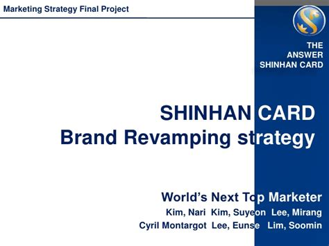 card companies marketing strategy brand reving strategy for a credit