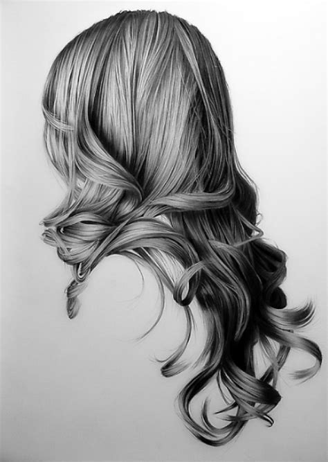 how to draw curly hair amazing pencil drawings of hair