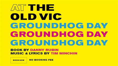 groundhog day musical groundhog day vic and tim minchin magic