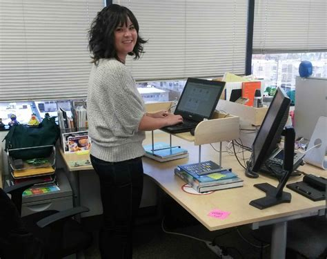 standing office desks office hack why i switched to a standing desk
