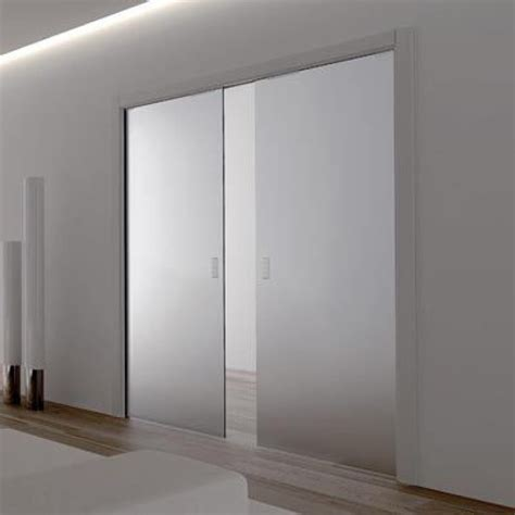sliding glass pocket doors eclisse glass sliding pocket door system door kit