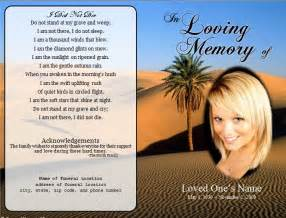 how to make funeral cards 1000 images about printable funeral program templates on