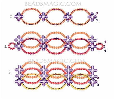 seed bead choker patterns free pattern for beaded choker magic