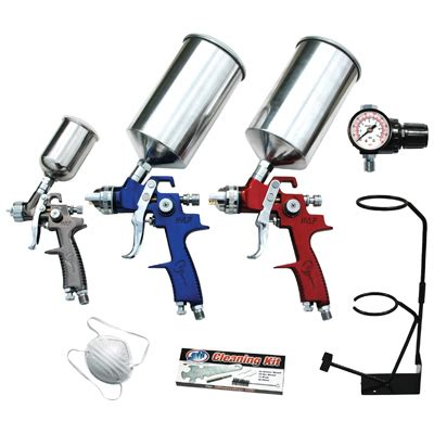 spray paint tools and equipment autoparts2020 atd tools 9 hvlp spray gun set