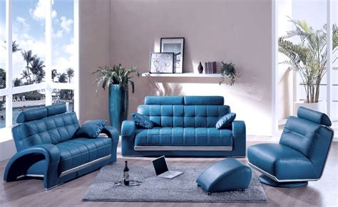 blue sofa in living room decorating a room with blue leather sofa traba homes