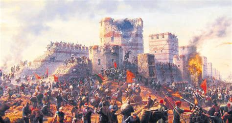 ottomans conquered constantinople the conquest of constantinople the heralding in a new era