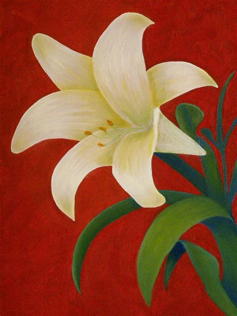 painting lessons flowers how to paint a step by step
