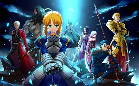 fate stay anime blazing ardor