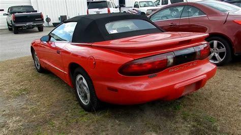 1995 Pontiac Firebird by 1995 Pontiac Firebird Cabrio Pictures Information And