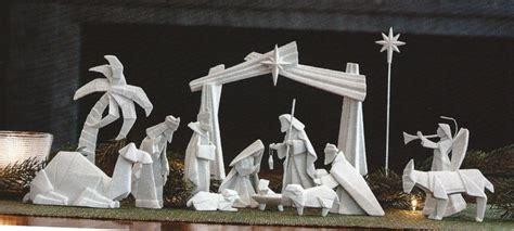 origami nativity set porcelain origami nativity 14 pcs pre order