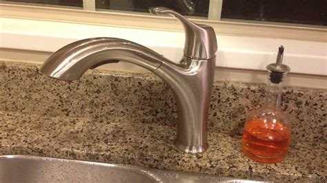 waterridge kitchen faucet review costco wr water ridge pull out faucet brushed nickel