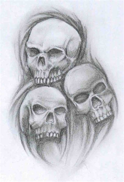 skulls tattoo by abemir on deviantart