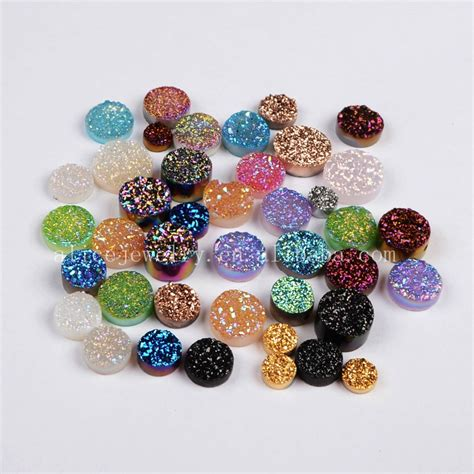 druzy stones for jewelry druzy stones wholesale flat agate druzy jewelry