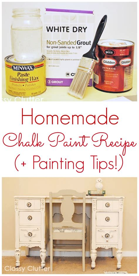 diy chalk paint using plaster of maintenance mode