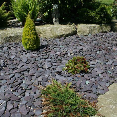 slate landscaping tumbled blue paddlestones 50 100mm landscaping