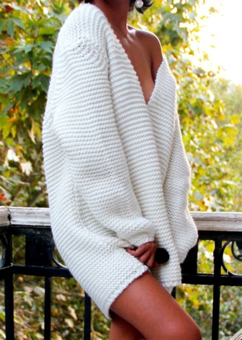 big knit jumpers sweater comfy knitwear knitted sweater holey knit