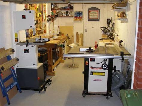woodworking cls uk one car garage workshop layout by papafran lumberjocks