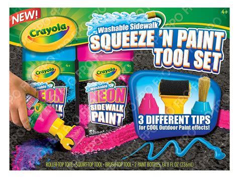 chalk paint lowest price crayola chalk squeeze n paint tool set only 7 99