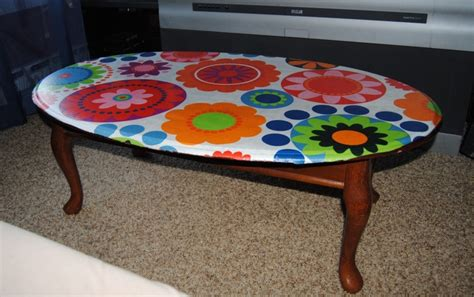 decoupage table top with fabric 17 best ideas about decoupage coffee table on