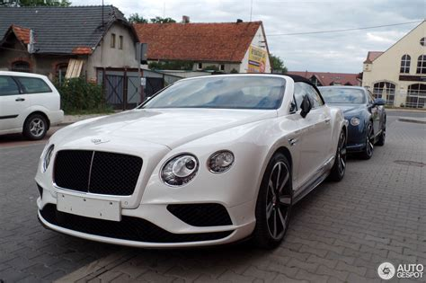 Bentley Continental Gtc by Bentley Continental Gtc V8 S 2016 16 Juni 2015 Autogespot