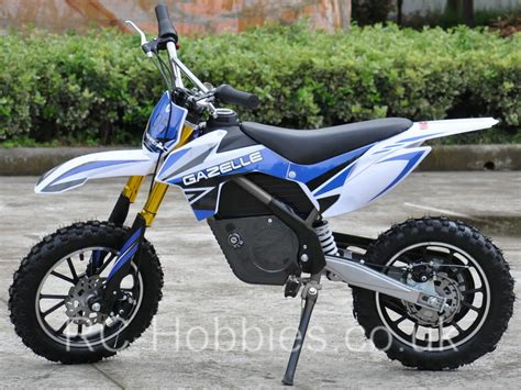 Electric Mini Moto by Mini Moto Electric Dirt Bike Gazelle 500w 36v Li Ion Or