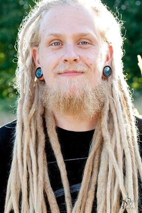 dreads with 11 dreadlock hairstyle with white mens hairstyles 2017