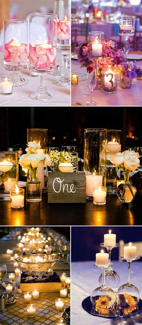 diy wedding centerpieces candles wedding ideas 30 ways to use candles for your big