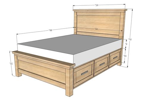 standard king bed frame standard bed frame sizes mattress size chart place to
