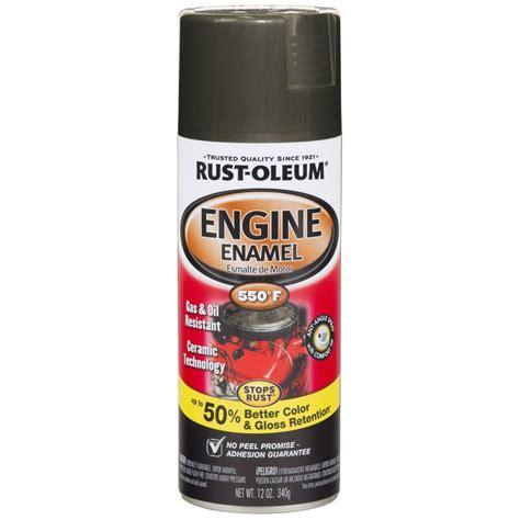 spray paint iron rust oleum automotive 12 oz 550 degree semi gloss cast