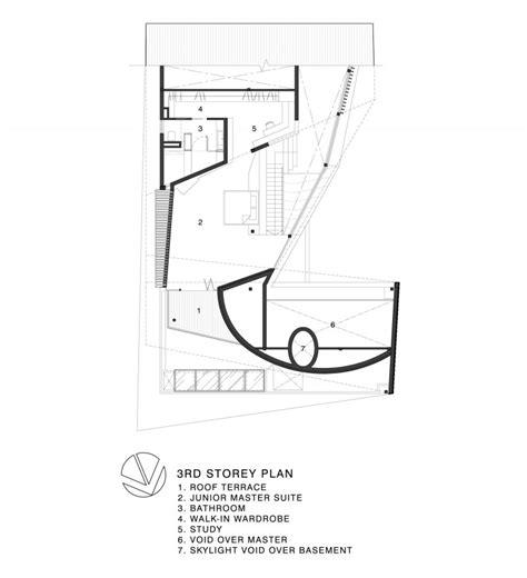 origami plans charming formwerkz architects s origami house design