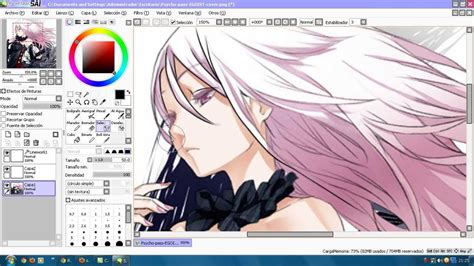 paint tool sai mouse user tutorial mini tutorial lineart paint tool sai